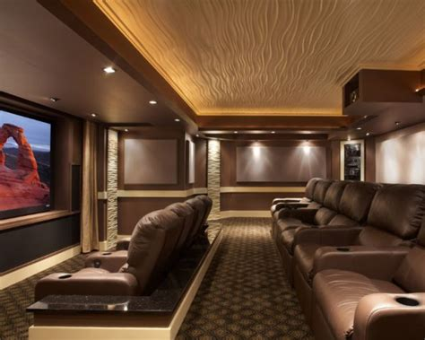 modern media room designs   blow