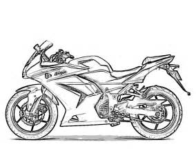 Motorcycle Coloring Pages To Print free printable motorcycle coloring pages for
