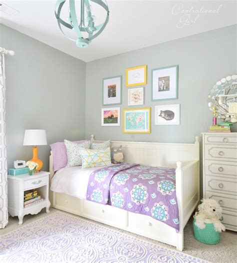 Paint Colors For Girls Bedroom - s room changes centsational