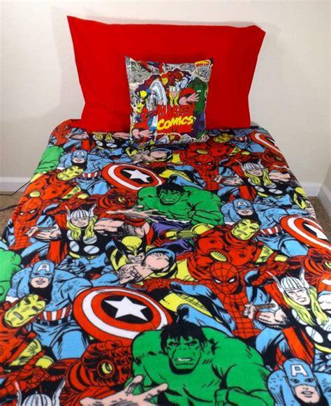 marvel avengers bedding set geeky comic iron man thor captain america wolverine spider man
