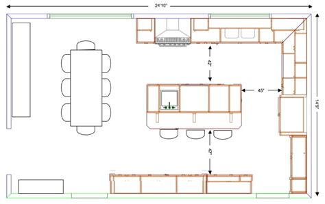 kitchen island layouts querido ref 250 gio de decora 231 227 o diversos formatos de
