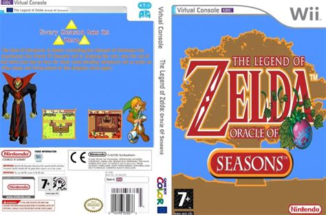 the legend of oracle of seasons oracle of ages legendary edition the legend of legendary edition the legend of oracle of seasons wii box cover