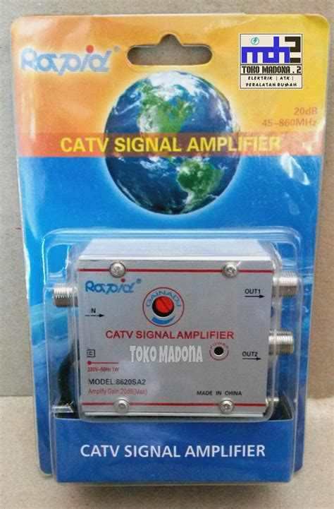 Catv Signal Lifier Penguat Signal Tv Splitter Tv Paralel 2 Tv Jual Splitter Booster Penguat Sinyal Tv Catv Signal