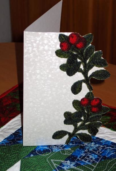 christmas greeting card advanced embroidery designs