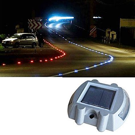 Solar Led Driveway Lights Metal Solar Power Led Path Driveway Pathway Deck Light