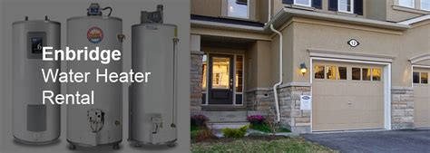 enbridge water heater rental demark home ontario