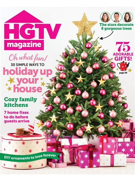 dec for christmashgtv hgtv magazine december 2013 hgtv