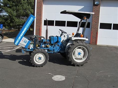 1985 Ford 1710 Compact Tractor Online Government Auctions ... K 1710
