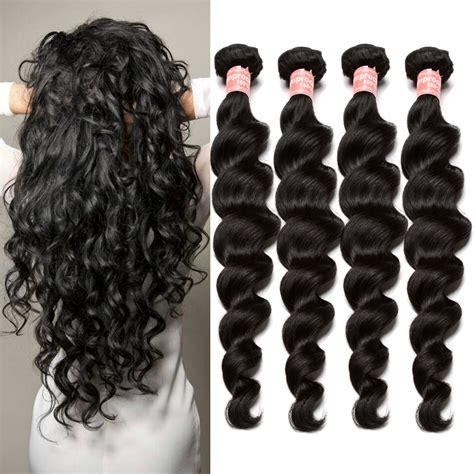aliexpress queen hair peruvian aliexpress com buy 6a peruvian loose wave 4 bundles rosa