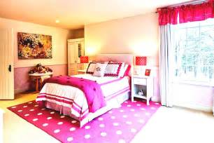 White Pink Bedroom Design Ideas For Teen Girls With Beautiful Windows   Bedroom Design