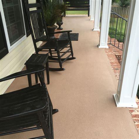concrete paint patio best 25 painted concrete patios ideas on