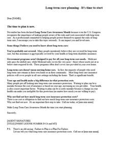 Term Care Pharmacist Cover Letter by Sle Term Care Letters