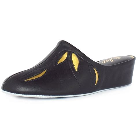 wedge slippers womens relax slippers molly dressy wedge slippers in black