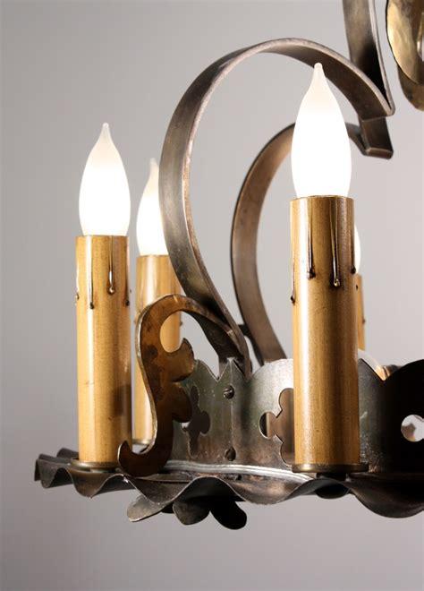 12 light brass chandelier rare antique twelve light arts crafts chandelier brass