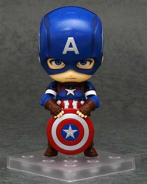 Figure Captain America Ironman Chibi figma deadpool nendoroid deadpool captain america marvel news