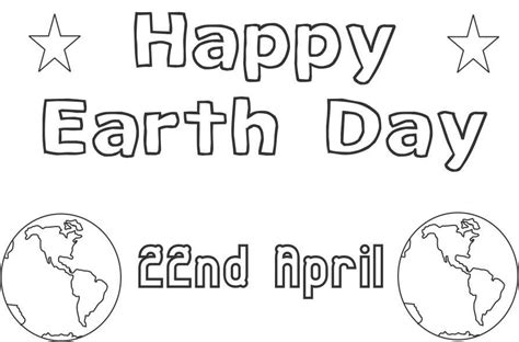 Earth Day Coloring Pages For Preschoolers earth day coloring pages