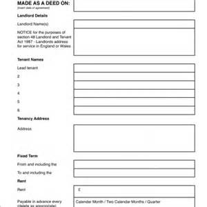 Shorthold Tenancy Agreement Template Free Download Assured Shorthold Tenancy Grl Landlord Association