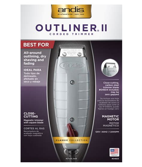 Outliner 2 Clippers by Outliner 174 Ii Square Blade Trimmer
