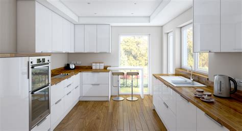 white wood kitchens charming and classy wooden kitchen countertops white