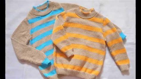chompas de tejido para damas ropa femenina ropa de invierno para ni 241 os tejidos a dos agujas youtube