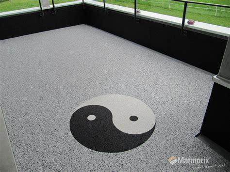 ying yang terrasse marmorix 174 steinteppich verlegebeispiele individuelle