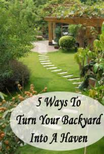 5 ways to turn your backyard into a haven homemade by jaci