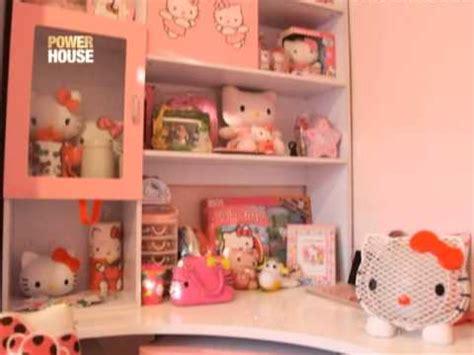 hello kitty house youtube nicole hyala showcases her hello kitty meowseum