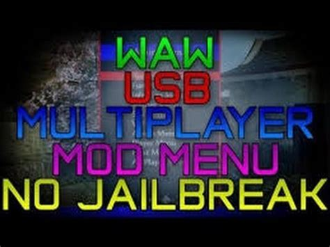 waw mod menu tutorial cod waw mod menu free download multiplayer pc how to