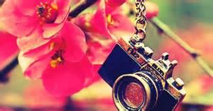 appareil photo couverture fleuri couverture