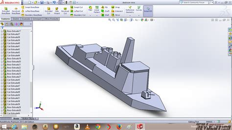 how to draw a boat hull in solidworks ddg 182 mirai in solidwork by hummerh3 on deviantart