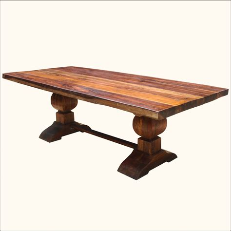 Trestle Dining Tables With Reclaimed Wood Cool Reclaimed Wood Trestle Dining Table All About House Design