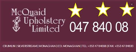 mcquaid upholstery furniture monaghan