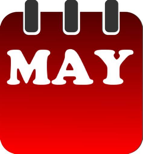 may clipart may calendar clip at clker vector clip