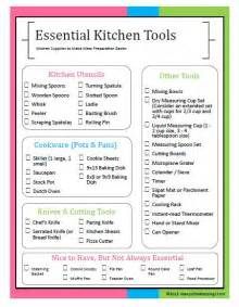 kitchen tools meal preparation and tools on
