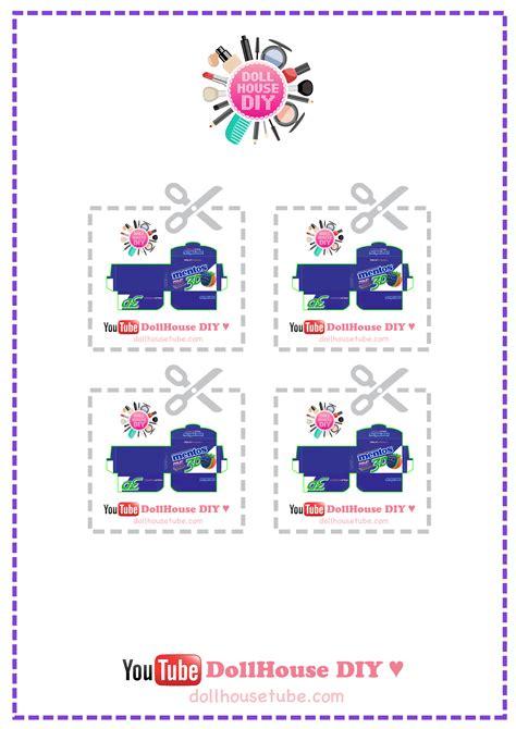 miniature and dollhouse plantillas miniature food tutorials dollhouse diy