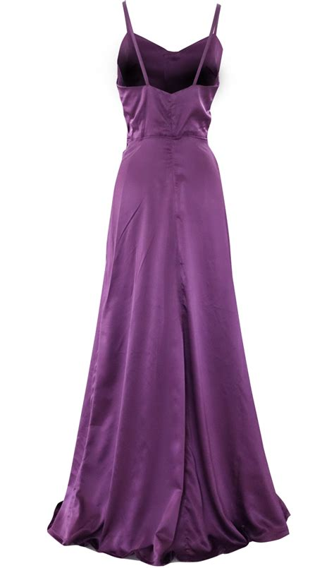 New Dress Satin evening satin maxi dress by