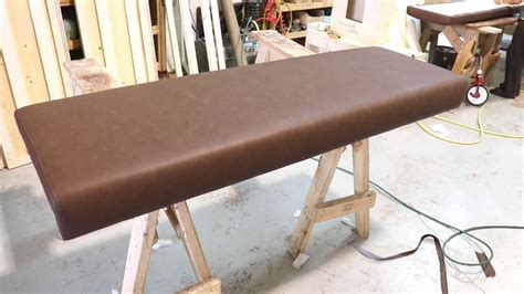 how to upholster bench seat how to upholster a seat bench alo upholstery tell me