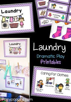 Laundry Dramatic Play Printables