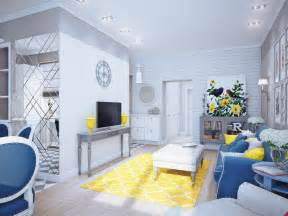 Living Room Ideas Yellow Blue Blue And Yellow Home Decor