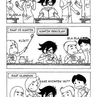 Komik Fantasteen 1hantu Di Sekolah 40 karya terpilih lomba komik corat coret tema pelajar indonesia hellomotion