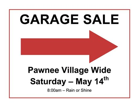 2016 wide garage sale of pawnee