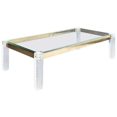 clear lucite coffee table 11 best lucite coffee tables images on lucite