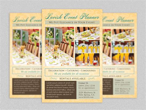 Event Planner Flyer Template Godserv Market Event Management Flyers Templates