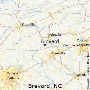 best places to live in brevard carolina