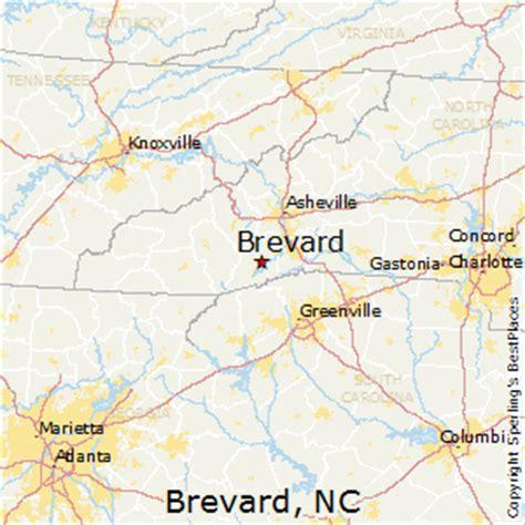brevard carolina map best places to live in brevard carolina