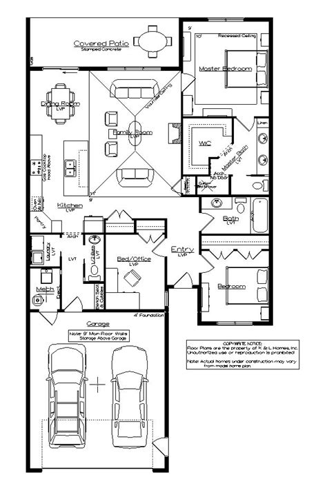 one level floor plans one level townhome floor plans