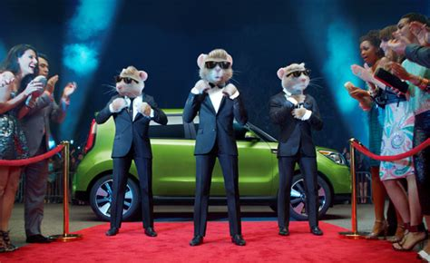 Kia Rodents Kia Hamsters Return For 2014 Soul Ad Caign 187 Autoguide