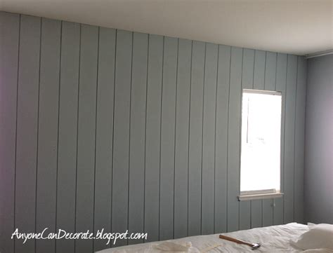 Painted Wall Paneling | anyone can decorate diy d wood panel wall master