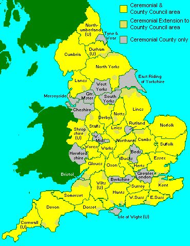 Is In What County Opinions On Postal Counties Of The United Kingdom