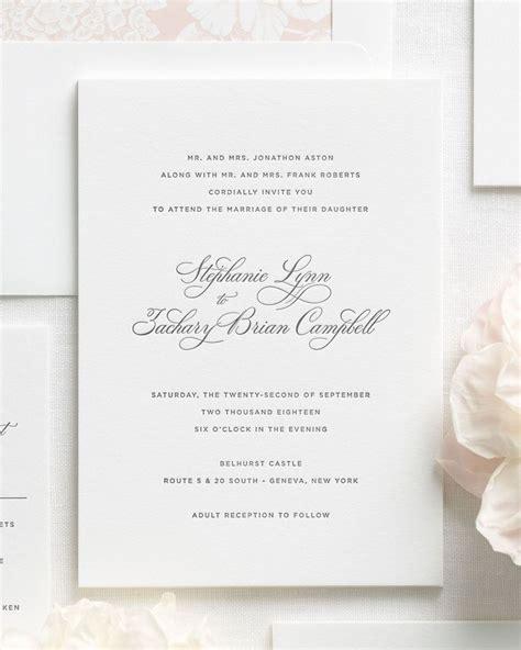 Wedding Invitations Classic by Classic Wedding Invitations Classic Wedding Invitations